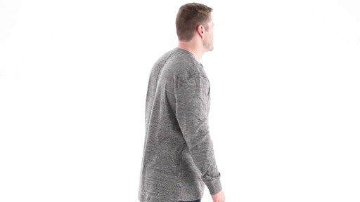Guide Gear Men's Double-lined Long Sleeve Henley 360 View - image 2 from the video