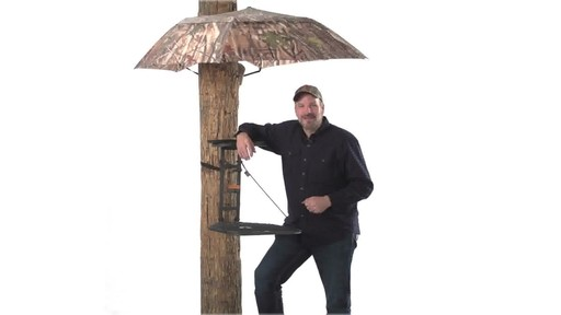 Guide Gear Camo Umbrella Blind - image 10 from the video