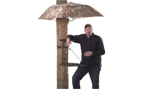 Guide Gear Camo Umbrella Blind - image 5 from the video
