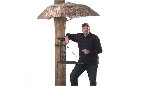 Guide Gear Camo Umbrella Blind - image 8 from the video