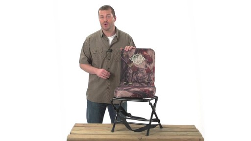 Guide Gear Swivel Hunting Chair Camo - image 10 from the video