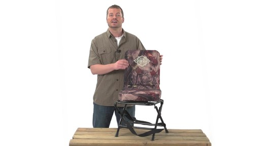 Guide Gear Swivel Hunting Chair Camo - image 7 from the video