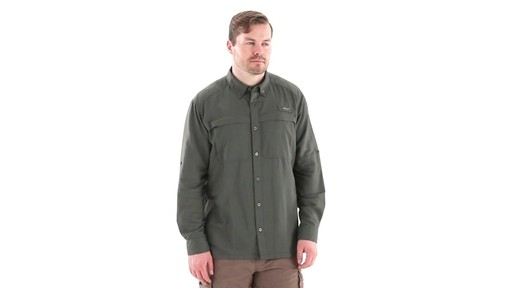 Guide Gear Men's Traverse Long Sleeve Shirt 360 View - image 1 from the video