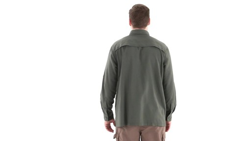 Guide Gear Men's Traverse Long Sleeve Shirt 360 View - image 4 from the video
