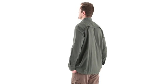 Guide Gear Men's Traverse Long Sleeve Shirt 360 View - image 5 from the video