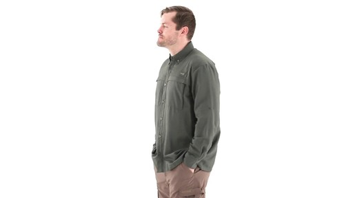 Guide Gear Men's Traverse Long Sleeve Shirt 360 View - image 6 from the video