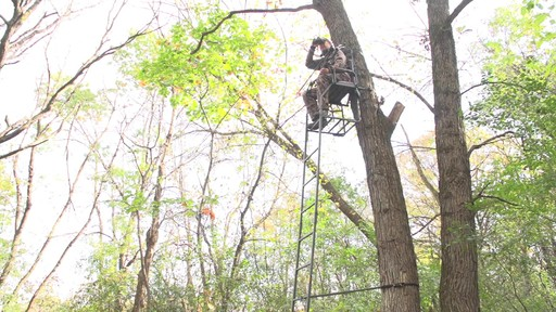 Guide Gear 16' Archer's Ladder Tree Stand - image 6 from the video
