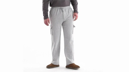 Guide Gear Men's Cargo Sweatpants 360 View - image 1 from the video