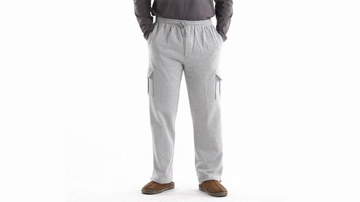 Guide Gear Men's Cargo Sweatpants 360 View - image 10 from the video