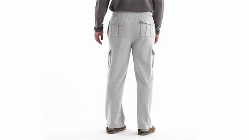 Guide Gear Men's Cargo Sweatpants 360 View - image 5 from the video