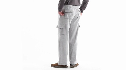 Guide Gear Men's Cargo Sweatpants 360 View - image 6 from the video