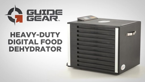Guide Gear Heavy-Duty Food Dehydrator - image 1 from the video