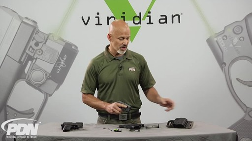 Viridian R5-PM45 Green Laser Sight Kahr .45 ACP - image 2 from the video