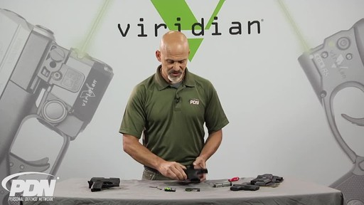 Viridian R5-PM45 Green Laser Sight Kahr .45 ACP - image 3 from the video