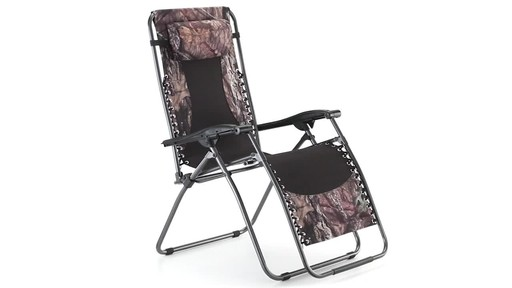 Guide Gear Oversized Mossy Oak Break-Up COUNTRY Zero-Gravity Chair 500 lb. 360 View - image 3 from the video