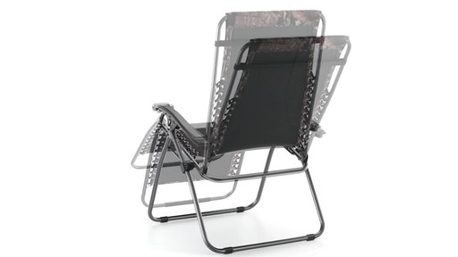Guide Gear Oversized Mossy Oak Break-Up COUNTRY Zero-Gravity Chair 500 lb. 360 View - image 6 from the video