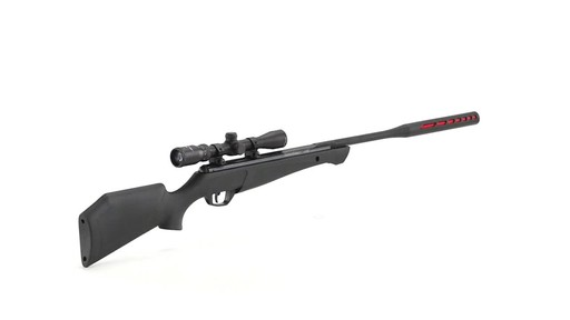 Crosman Redtail Nitro Piston Break Barrel Air Rifle .177/.22 Caliber 4x32mm Scope 360 View - image 8 from the video