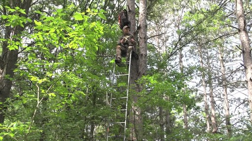 Guide Gear 15' Ladder Tree Stand - image 2 from the video