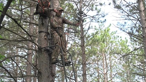 Guide Gear 15' Ladder Tree Stand - image 8 from the video