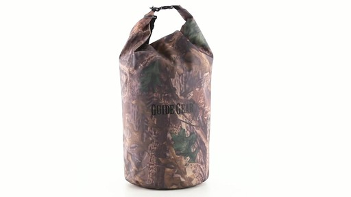 Guide Gear Roll-Top Waterproof Dry Bag 60 Liter 360 View - image 10 from the video