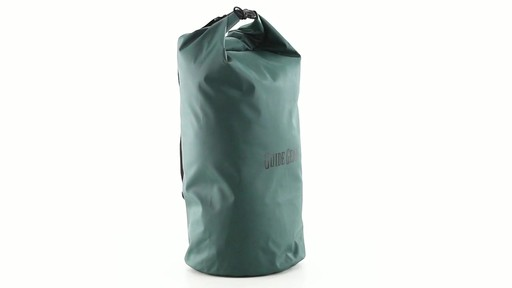 Guide Gear Roll-Top Waterproof Dry Bag 60 Liter 360 View - image 2 from the video