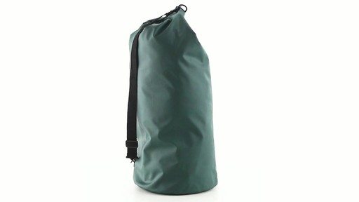 Guide Gear Roll-Top Waterproof Dry Bag 60 Liter 360 View - image 3 from the video