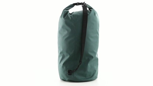 Guide Gear Roll-Top Waterproof Dry Bag 60 Liter 360 View - image 5 from the video
