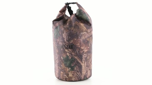 Guide Gear Roll-Top Waterproof Dry Bag 60 Liter 360 View - image 9 from the video