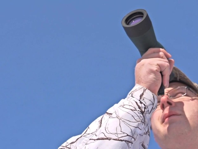 NcSTAR® 15 - 40x50 mm Zoom Compact Spotting Scope - image 1 from the video