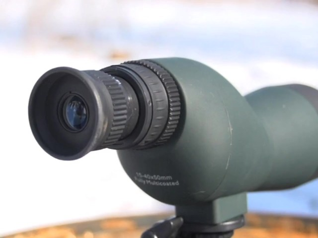 NcSTAR® 15 - 40x50 mm Zoom Compact Spotting Scope - image 10 from the video