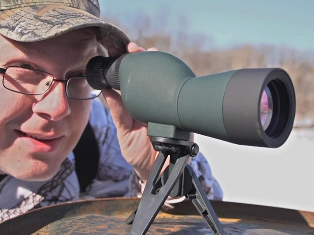 NcSTAR® 15 - 40x50 mm Zoom Compact Spotting Scope - image 9 from the video