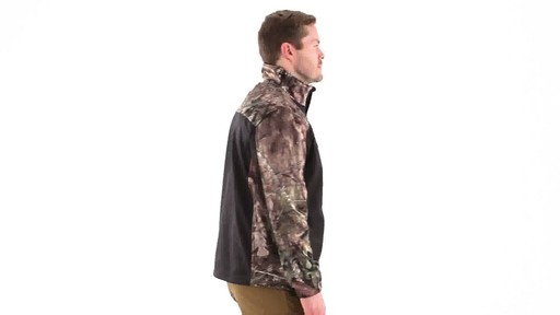 Guide Gear Men's Silvercliff Softshell Jacket 360 View - image 2 from the video