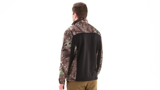 Guide Gear Men's Silvercliff Softshell Jacket 360 View - image 4 from the video