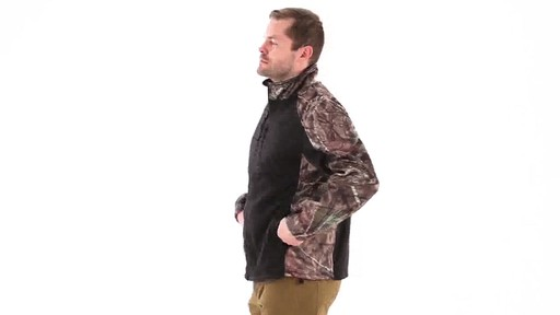 Guide Gear Men's Silvercliff Softshell Jacket 360 View - image 6 from the video