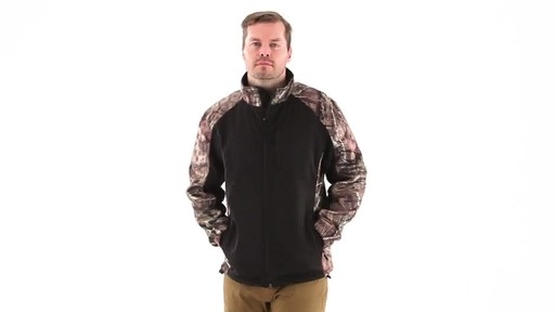 Guide Gear Men's Silvercliff Softshell Jacket 360 View - image 7 from the video
