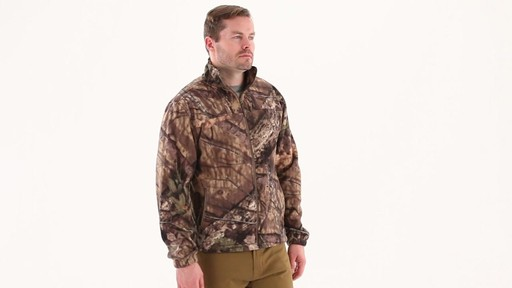 Guide Gear Men's Fleece Full Zip Jacket 360 View - image 1 from the video