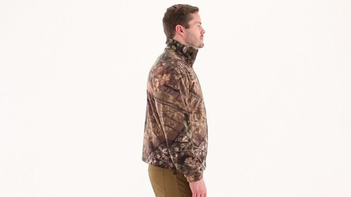 Guide Gear Men's Fleece Full Zip Jacket 360 View - image 2 from the video