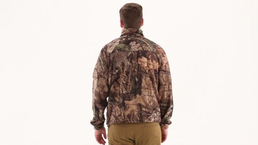 Guide Gear Men's Fleece Full Zip Jacket 360 View - image 4 from the video