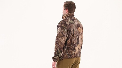 Guide Gear Men's Fleece Full Zip Jacket 360 View - image 5 from the video
