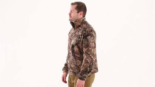 Guide Gear Men's Fleece Full Zip Jacket 360 View - image 6 from the video