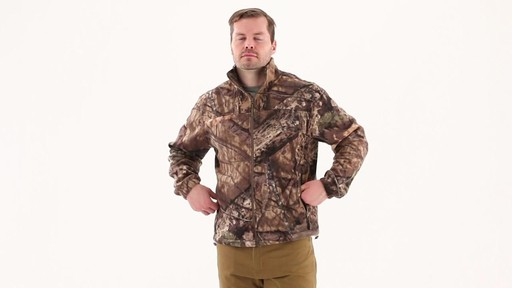 Guide Gear Men's Fleece Full Zip Jacket 360 View - image 7 from the video