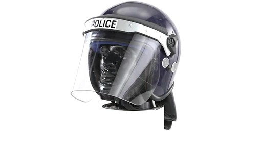 BRI POLICE RIOT HELMET 360 View - image 1 from the video