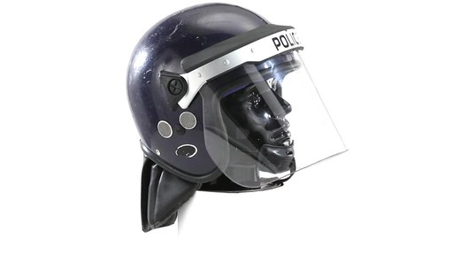 BRI POLICE RIOT HELMET 360 View - image 4 from the video