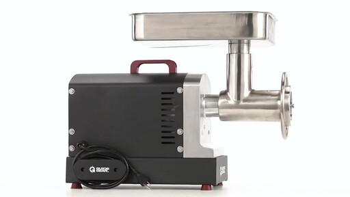 Guide Gear Series #32 1.5hp Electric Commercial-Grade Meat Grinder 360 View - image 4 from the video