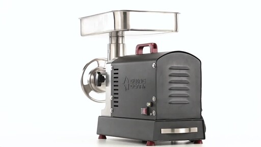Guide Gear Series #32 1.5hp Electric Commercial-Grade Meat Grinder 360 View - image 8 from the video