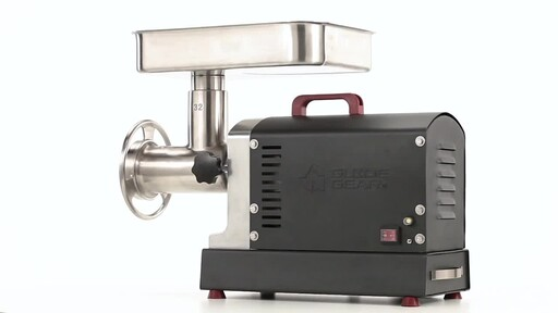 Guide Gear Series #32 1.5hp Electric Commercial-Grade Meat Grinder 360 View - image 9 from the video