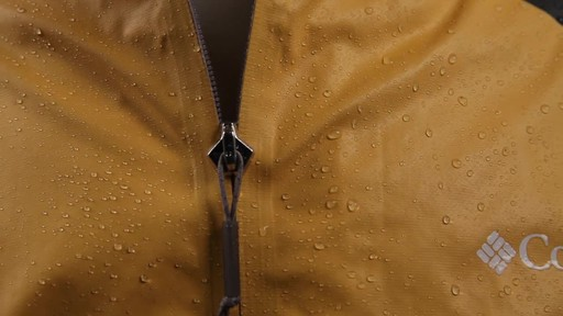 Columbia Men's OutDry Hybrid Waterproof Jacket - image 7 from the video