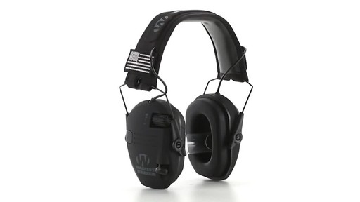 Walker's Razor Patriot Series Electronic Ear Muffs 360 View - image 3 from the video