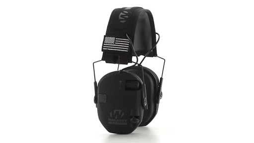 Walker's Razor Patriot Series Electronic Ear Muffs 360 View - image 4 from the video