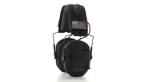 Walker's Razor Patriot Series Electronic Ear Muffs 360 View - image 5 from the video